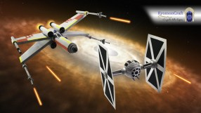 Quilling Star Wars X-Wing VS Tie Fighter