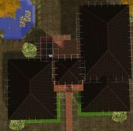 Jungle House tampak atas