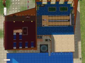 Sheppuden Amusement Center tampak atas lt2