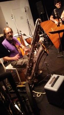 Electric Bass Sax
