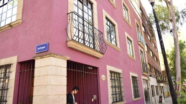 メキシコシティサンフェルナンド館外観