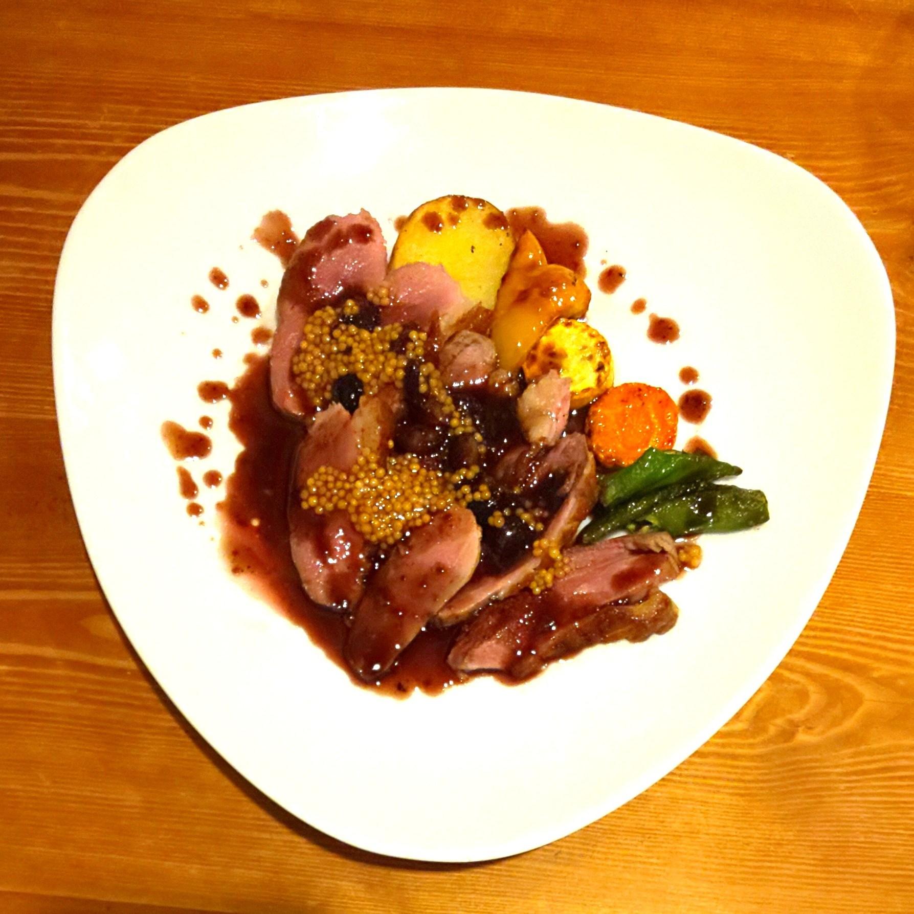 ほうき星 京都 鴨肉のソテー