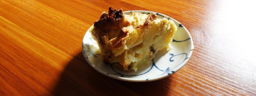 林檎とサツマイモのケーキを焼いたらサツマイモが消えた。