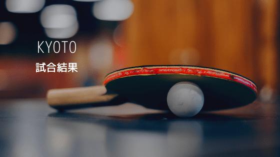 【高体連】両丹新人卓球大会  兼 全国選抜・近畿新人両丹予選 の 試合結果
