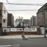 (仮称)アパホテル〈京都駅東〉 建築看板設置