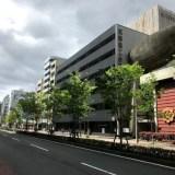 御所南、旧京都商工会議所ビルに『関電不動産開発』の建築標識が設置!!