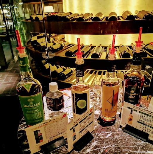 【リッツカールトン「ザ・バー」ボトルキーパースペシャルイベントへ】リッツカールトン京都The Bar③
