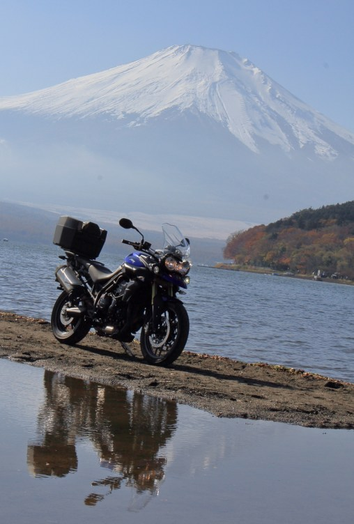 Mt. Fuji and Yamanakako lake