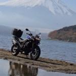 Mt. Fuji and Yamanakako lake