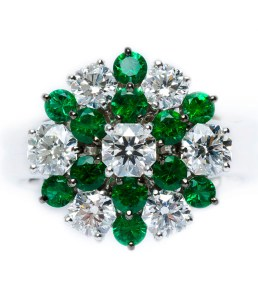 Emerald / Diamond Ring BC6349