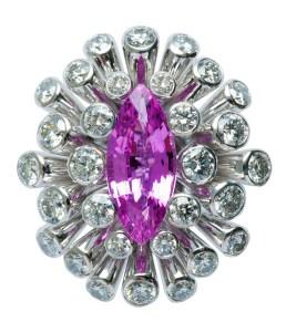 Pink Sapphire Ring FD0012