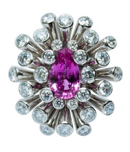 Pink Sapphire Ring FD0013