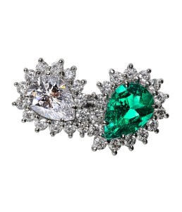 Emerald Diamond Ring BC6602