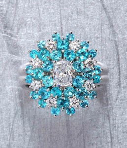 Paraiba & Diamond Ring BC5030
