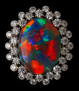 RARE Black Opal Ring AT123