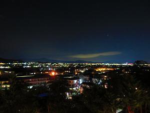 夜の法輪寺で見るデジタルカケジク・嵐山花燈路2018年 | 京都 ...