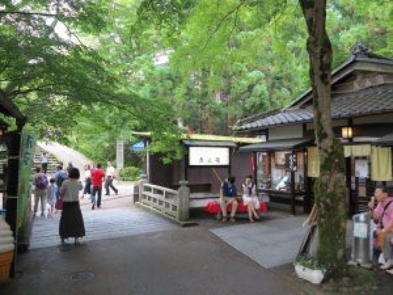 京都大原三千院門前町