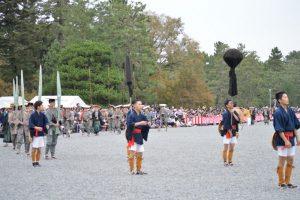 時代祭2016 徳川城使上洛列