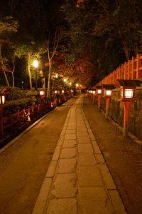 八坂神社の紅葉 2016 午前中
