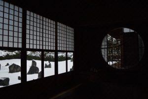 【2017】京都の雪景色 光明院