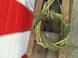 疫神社夏越祭の茅輪