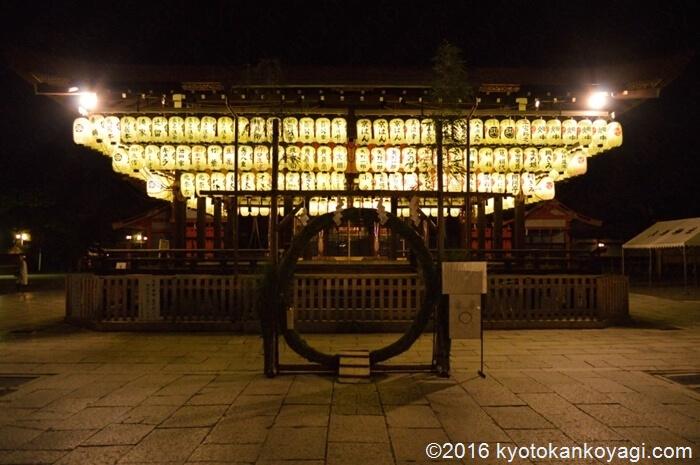 八坂神社茅の輪