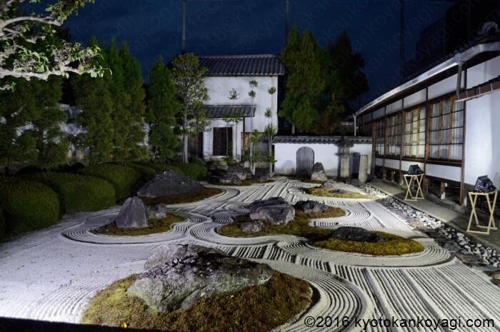 妙蓮寺十六羅漢石庭