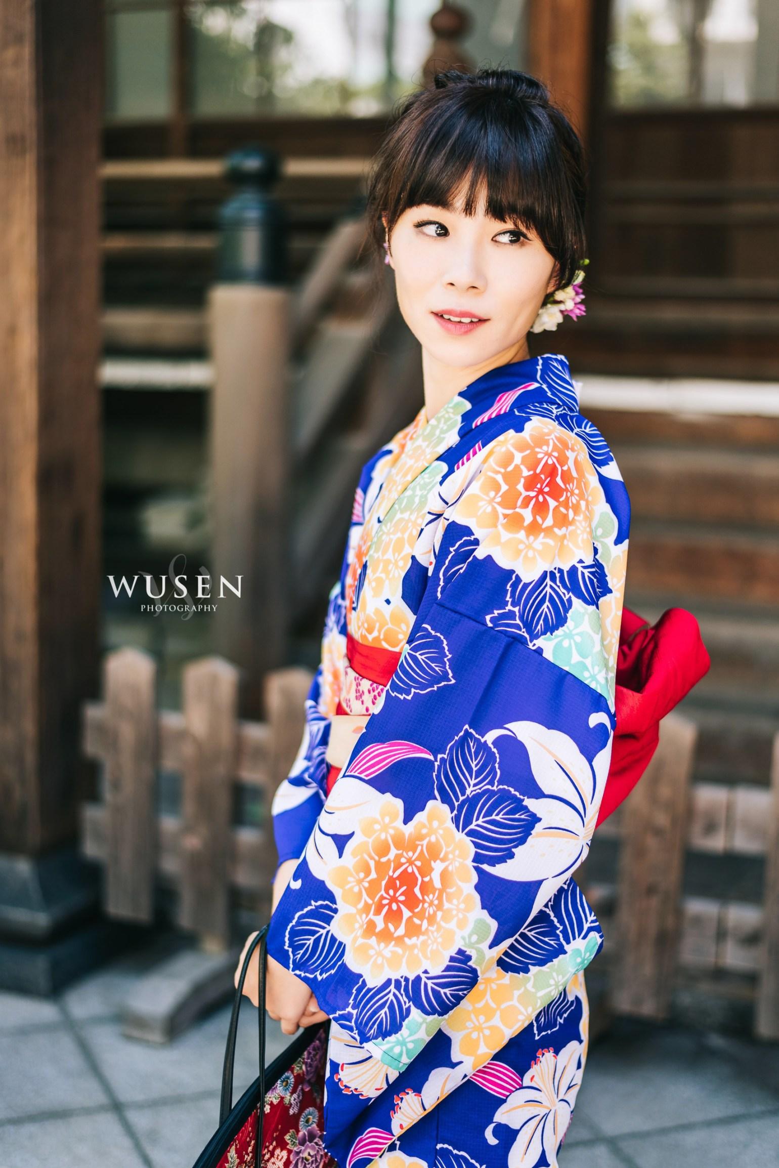 日本九州 福岡博多 和服攝影外拍 Fukuoka Kimono Photographer – 京都和服寫真 Wusen Photography