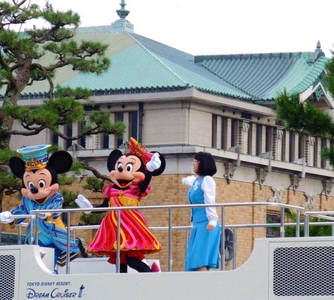「ディズニースペシャルパレード」京都岡崎ハレ舞台