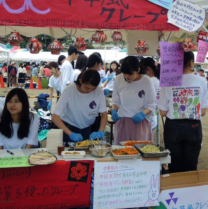 京都学生祭典・屋台
