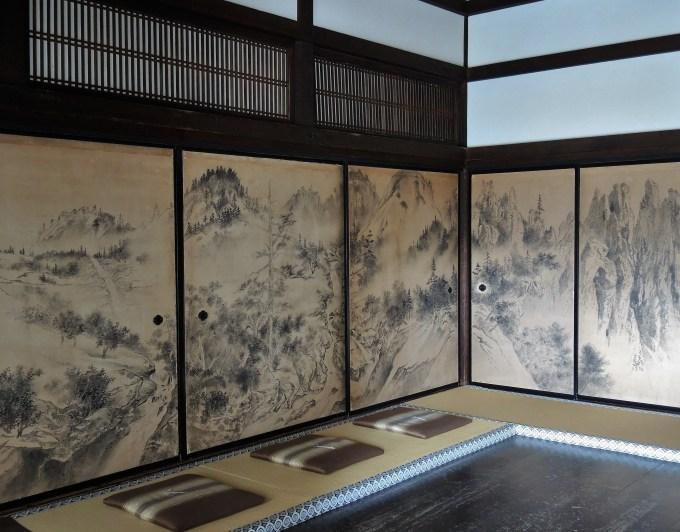 京都・大徳寺・瑞峯院・襖絵