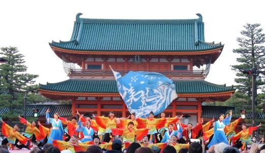 🌸 京都さくらよさこい「Tacci」平安神宮・岡崎公園