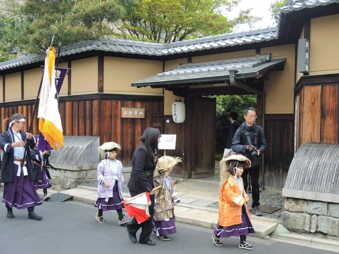 京都・熊野神社・神幸祭・お稚児さん