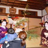 京都ゑびす神社・十日ゑびす大祭・残り福祭・舞妓
