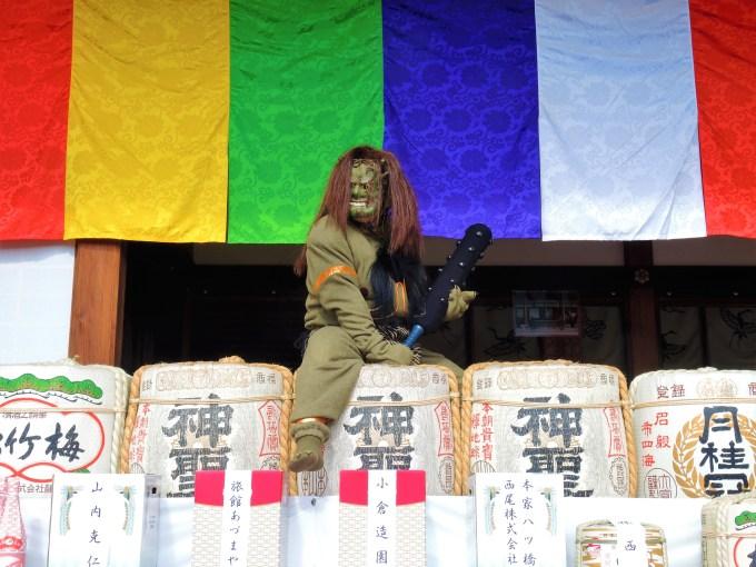 京都・聖護院・節分・鬼