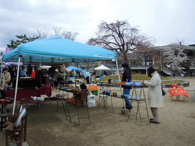京都「平安蚤の市」
