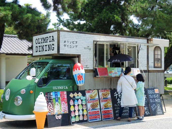 京都「岡崎公園 ASOBIBA」キッチンカー