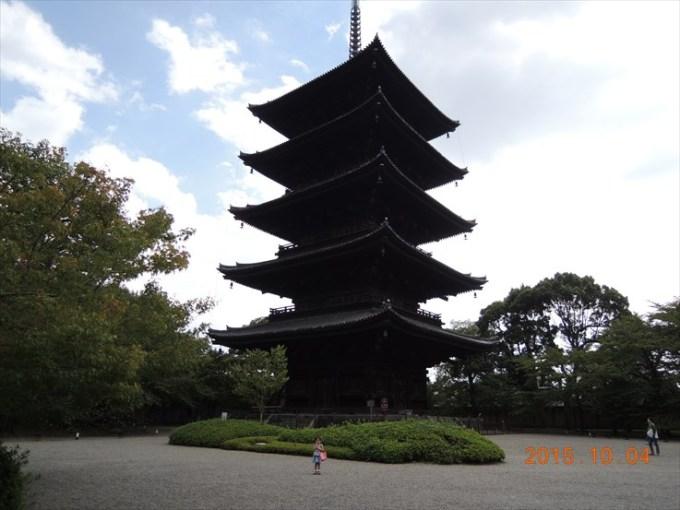 13五重塔と娘2