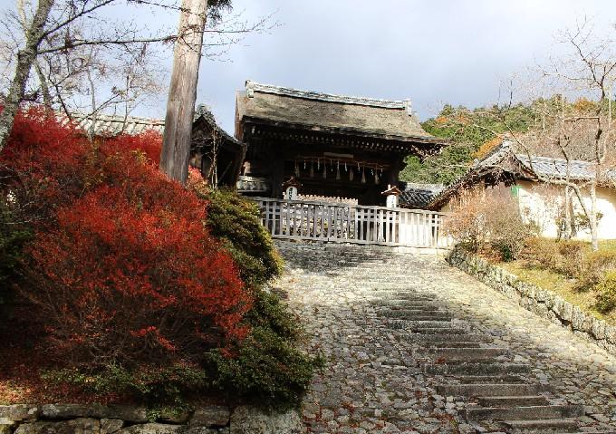 7毘沙門堂の勅使門