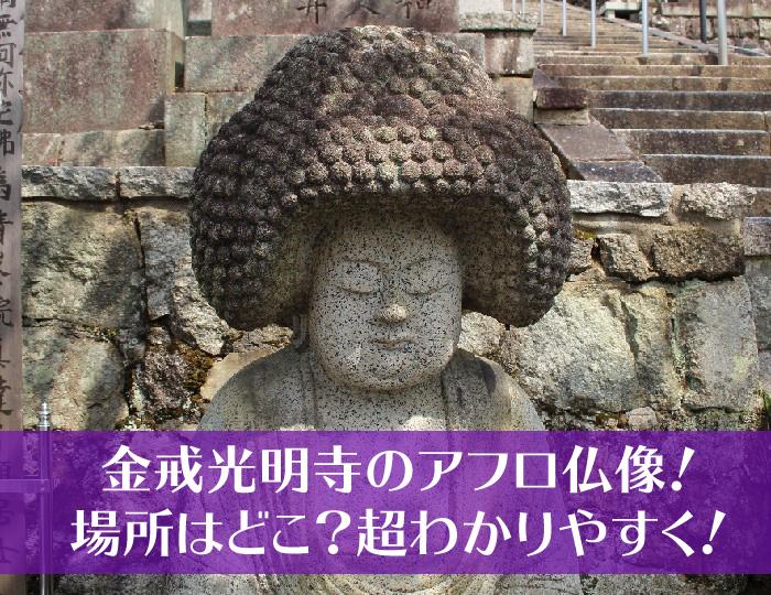 金戒光明寺のアフロ仏像