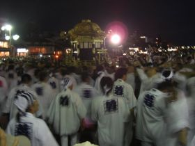 祇園祭神輿洗