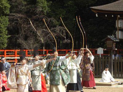 上賀茂神社武射神事
