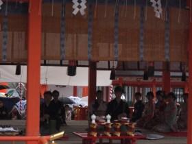 伏見稲荷大社献花祭