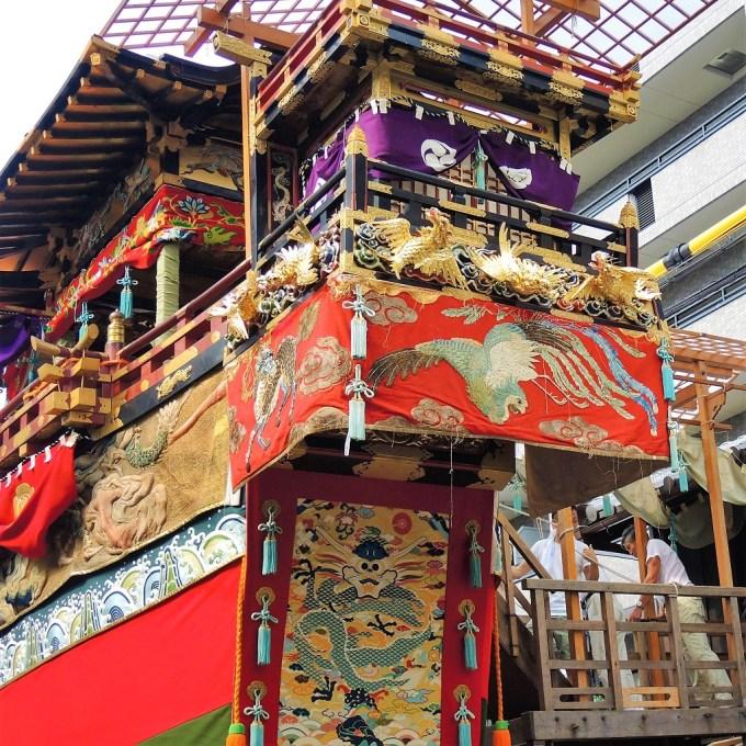 京都・祇園祭・曳初め・船鉾