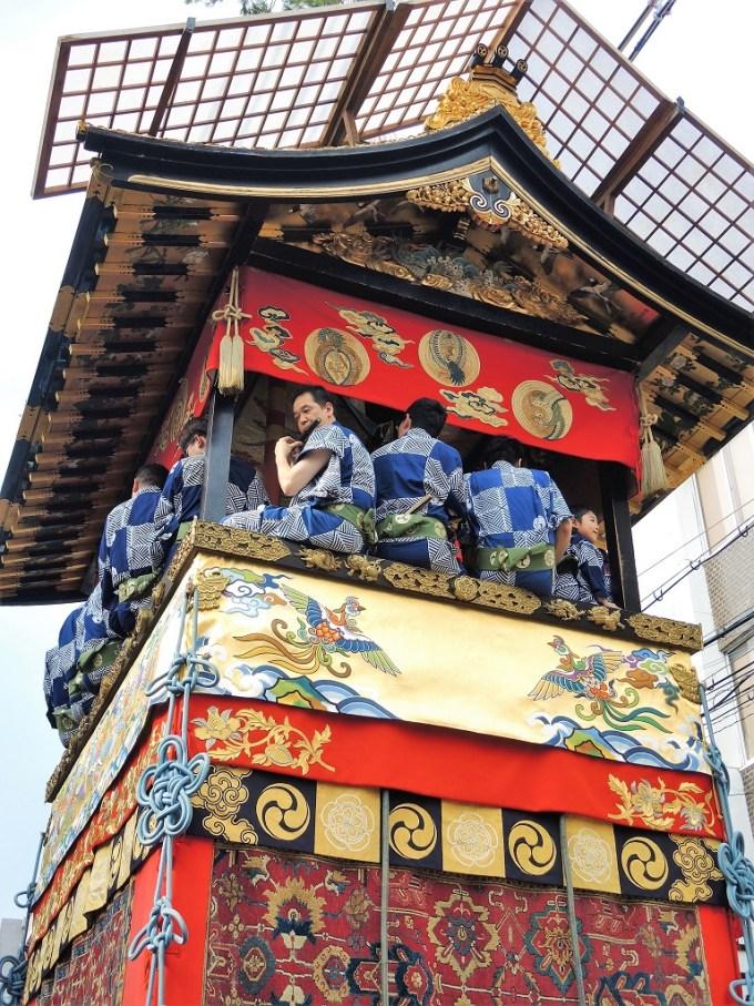 京都・祇園祭・岩戸山・曳き初め