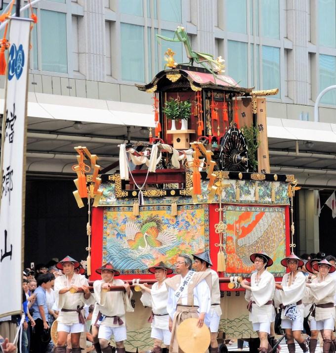 京都・祇園祭・蟷螂山