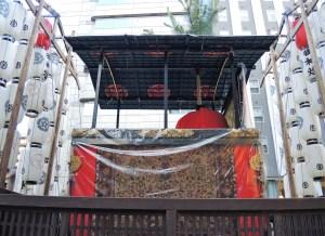 京都・祇園祭・宵山・郭巨山