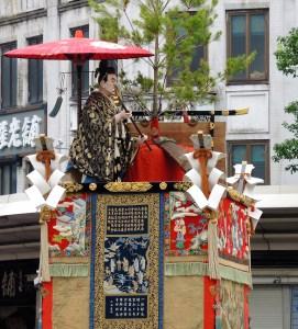 京都「祇園祭」前祭・山鉾巡行・伯牙山