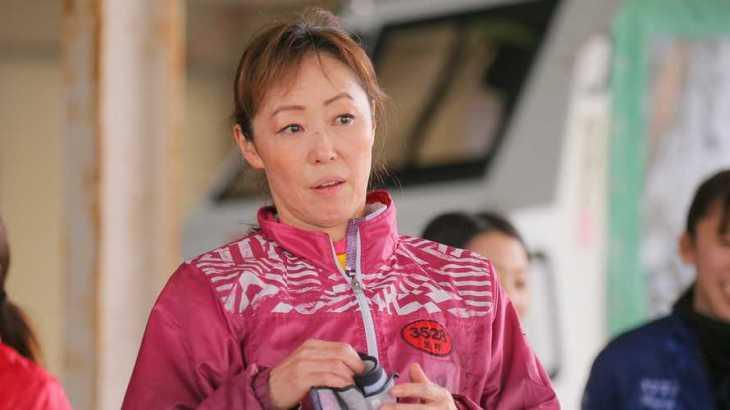 笠野友紀恵選手のTOP画像です。