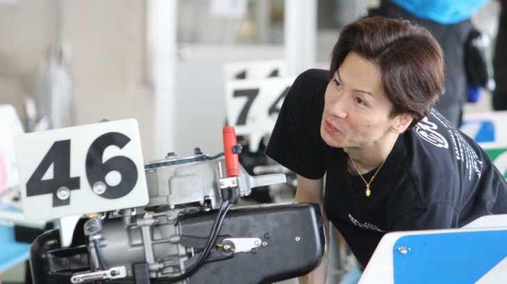 岡崎恭裕選手のTOP画像です。